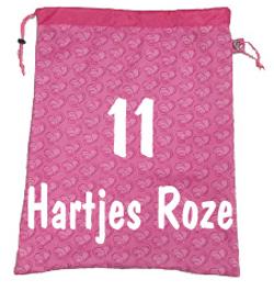 Luizenzak hartjes roze 11